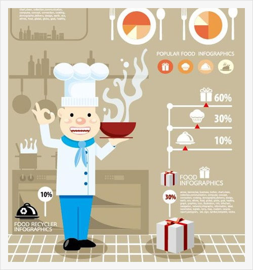 Elements-of-food-infographics-vector