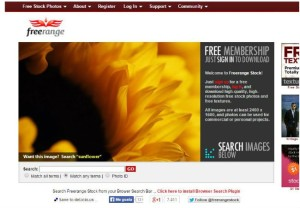 FreeRangeStock - banco imagenes gratis