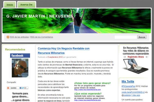 G Javier Martin Campos Blog-2010