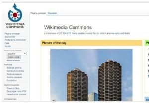 banco imagenes gratis WikimediaCommons