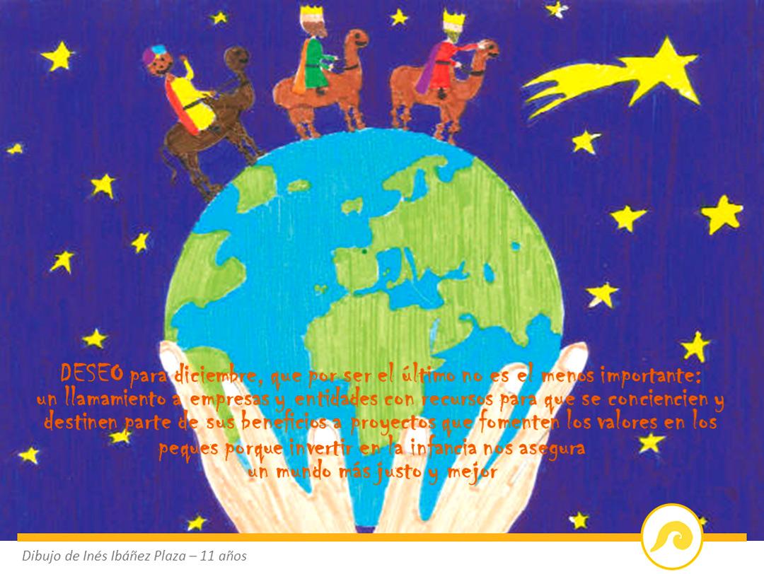 Carta a SSMM los Magos de Oriente: los 12 deseos de Kashy
