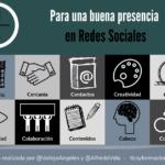 """Las 10 """"C"""" para una buena presencia en Redes Sociales #infografia #socialmedia"""