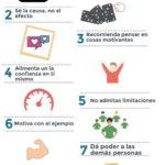 10 formas de motivar a los demás #infografia #infographic