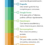 10 herramientas online para crear evaluaciones y exámenes #infografia #infographic #education