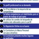 10 razones por las que no te llaman para una Entrevista de Trabajo #infografia #infographic #empleo