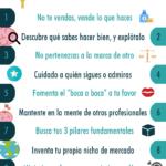 10 trucos para encontrar tu verdadera Marca Personal #infografia #infographic #marketing