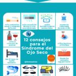 12 consejos para el Síndrome del Ojo Seco #infografia #infographic #salud