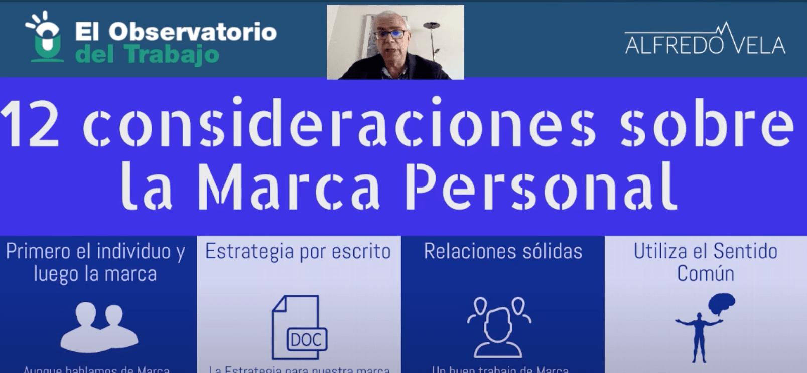 12 consideraciones sobre la Marca Personal (vídeo) #marcapersonal #personalbranding