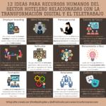12 ideas para recursos humanos del sector hotelero relacionadas con la #transformacióndigital y el #teletrabajo #infografia #rrhh