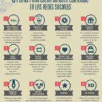 13 pistas para crear buen contenido en las redes sociales [Infografía] #ElGranLibroCM – #Infografia #Marketing #Digital