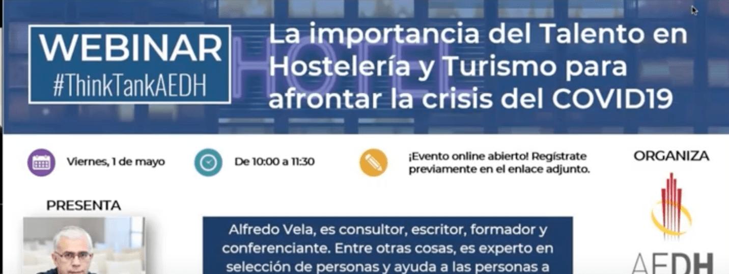 La importancia del Talento en Hostelería y Turismo para afrontar la crisis del COVID-19 (vídeo) #turismo #talento