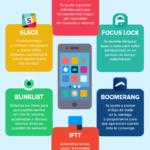 6 apps para ser el más productivo #infografia #infographic #rrhh #productividad
