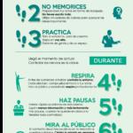 9 pasos para perder el miedo a hablar en público #infografia #infographic