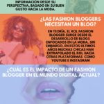 Fashion bloggers ¿moda o tendencia? #infografia #infographic #marketing