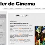Premis Nova Autoria – Sitges 2011 – Taller De Cinema – Jaume Fargas