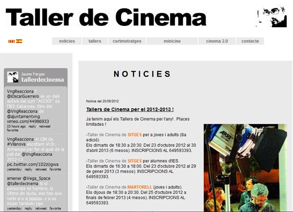 Jaume FargasTaller De Cinema