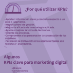 KPIs y Marketing Digital #infografia #infographic #marketing – TICs y Formación – #Infografia #Marketing #Digital