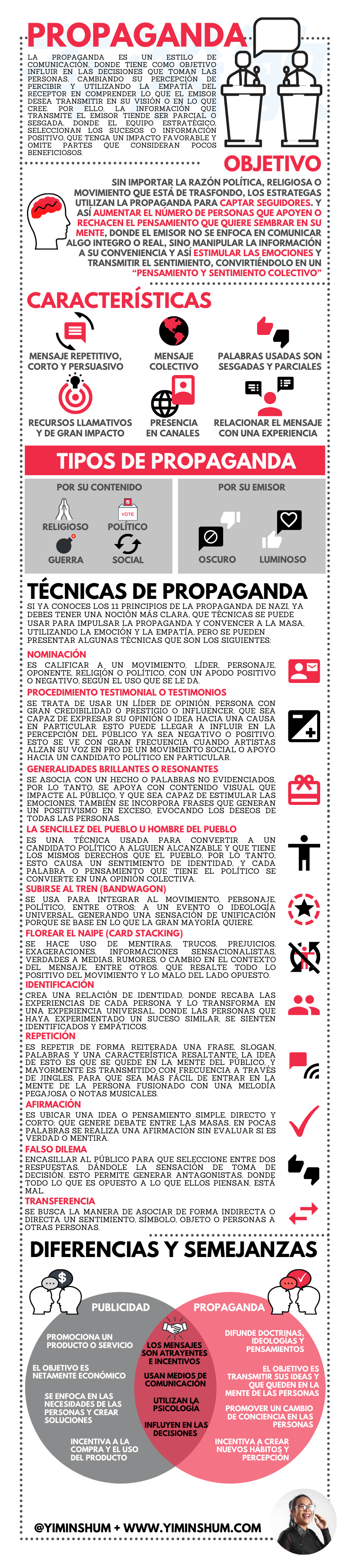 Qué es Propaganda #infografia #infographic #marketing