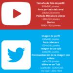 Tamaño de las imágenes en redes sociales en 2021 – #Infografia #Marketing #Digital