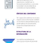 Técnicas periodísticas en comunicación corporativa #infografia #infographic #marketing