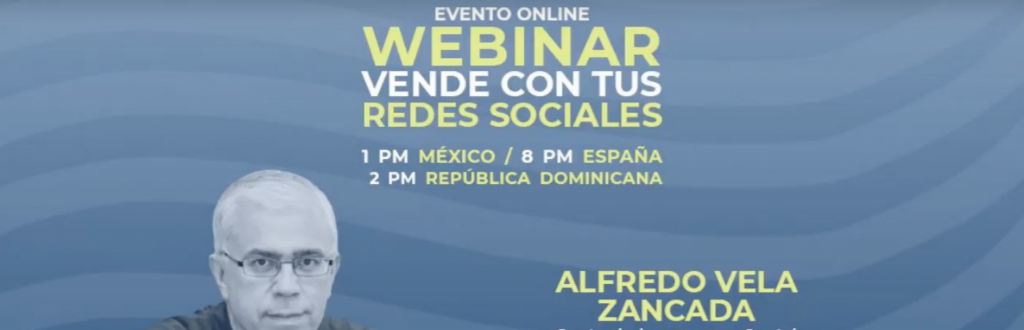Vender con las Redes Sociales (webinar) #marketing #socialmedia