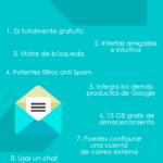 Ventajas de usar Gmail #infografia #infographic