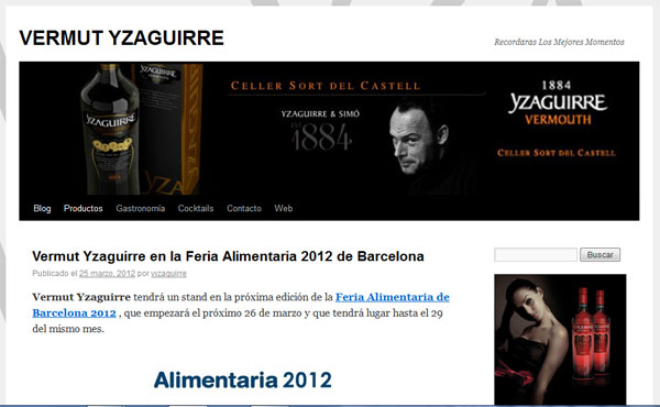 Vermut Yzaquirre Blog