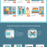Cómo usar Pinterest en el sector Retail #infografia #infographic #socialmedia