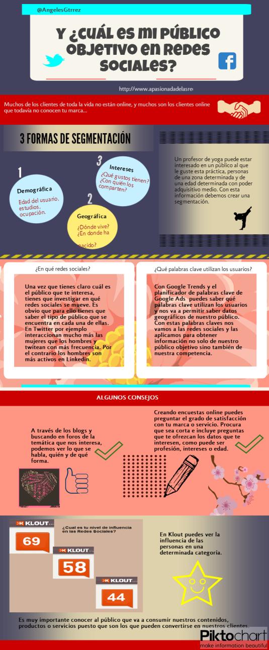 Infografia - Y, ¿cuál es mi público objetivo en redes sociales?