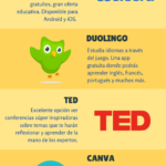 5 APPs útiles para estudiantes #infografia #infographic #education
