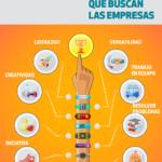 7 aptitudes laborales que buscan las empresas #infografia #infographic #rrhh