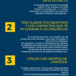 4 recomendaciones para aumentar tu red de contactos de calidad en LinkedIn #infografia #socialmedia