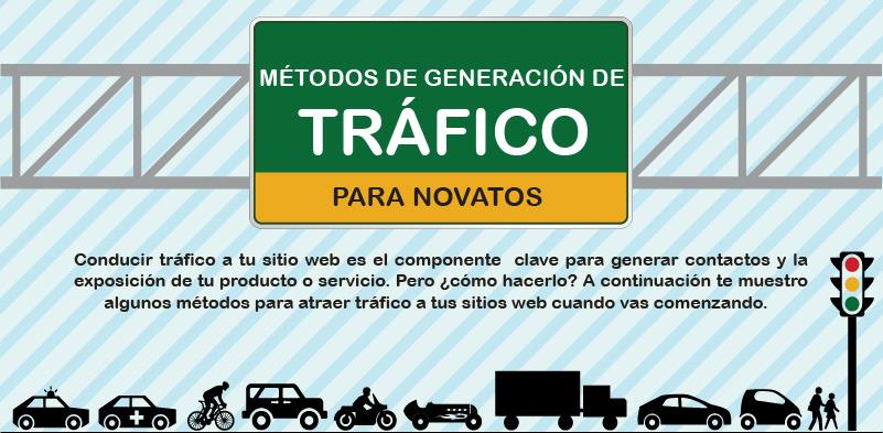 Los 5 Mejores Métodos De Generación de Tráfico – Infografía