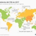 Crecimiento del PIB en 2017 #infografia #infographic