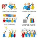 6 claves para organizar mejor el trabajo en equipo #infografia #infographic #rrhh