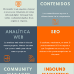 Consultor de Marketing Digital: conocimientos #infografia #infographic #marketing