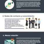 5 razones por las que contratar a mayores de 45 años #infografia #infographic #rrhh