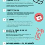 9 consejos para convertir emails en reservas para tu Hotel #infografia #marketing #tourism