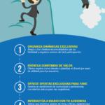 6 formas de transformar clientes en seguidores #infografia #infographic #marketing