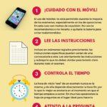 Consejos para preparar los exámenes #infografia #infographic #education