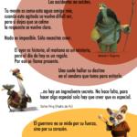 8 frases de las película Kung-Fu Panda #infografia #infographic #citas #quotes