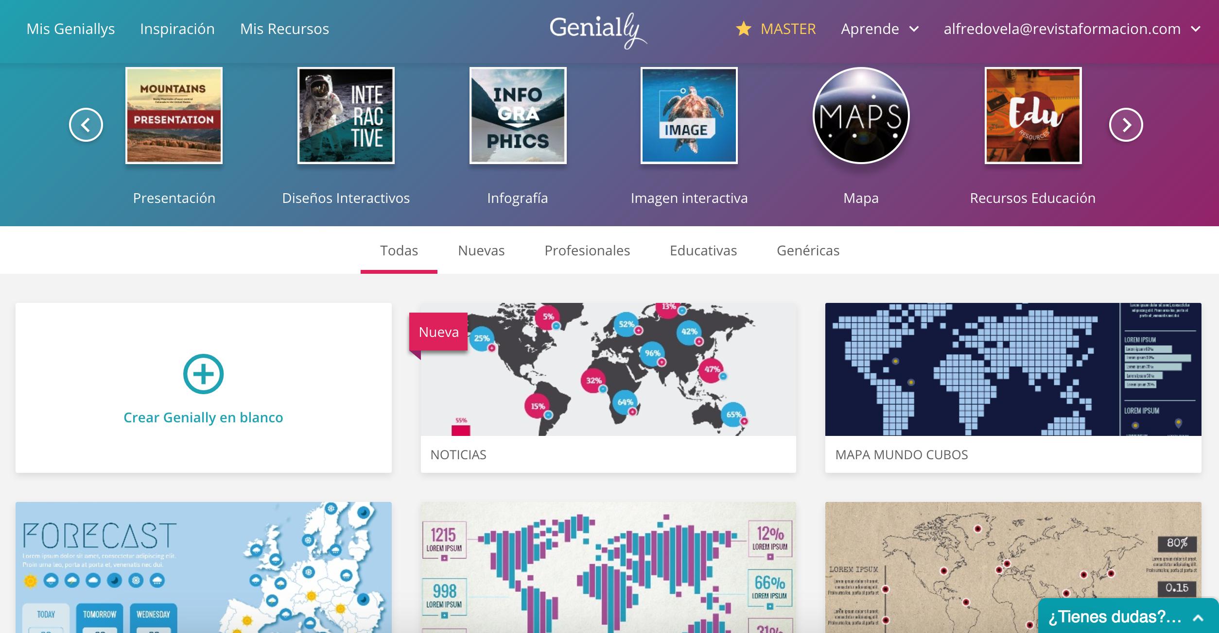 Genial.ly: 8 plantillas y 1 ejemplo de Mapas interactivos #infografia #infographic #maps