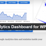 Google Analytics Dashboard WP Como Analizar El Trafico Desde Tu Blog WordPress