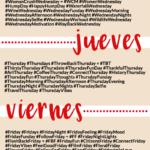 Hashtags para cada día de la semana #infografia #infographic #socialmedia