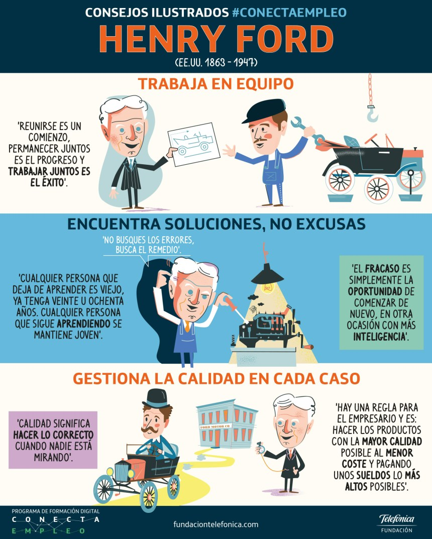 3 consejos de Henry Ford para tu empresa #infografia #infographic