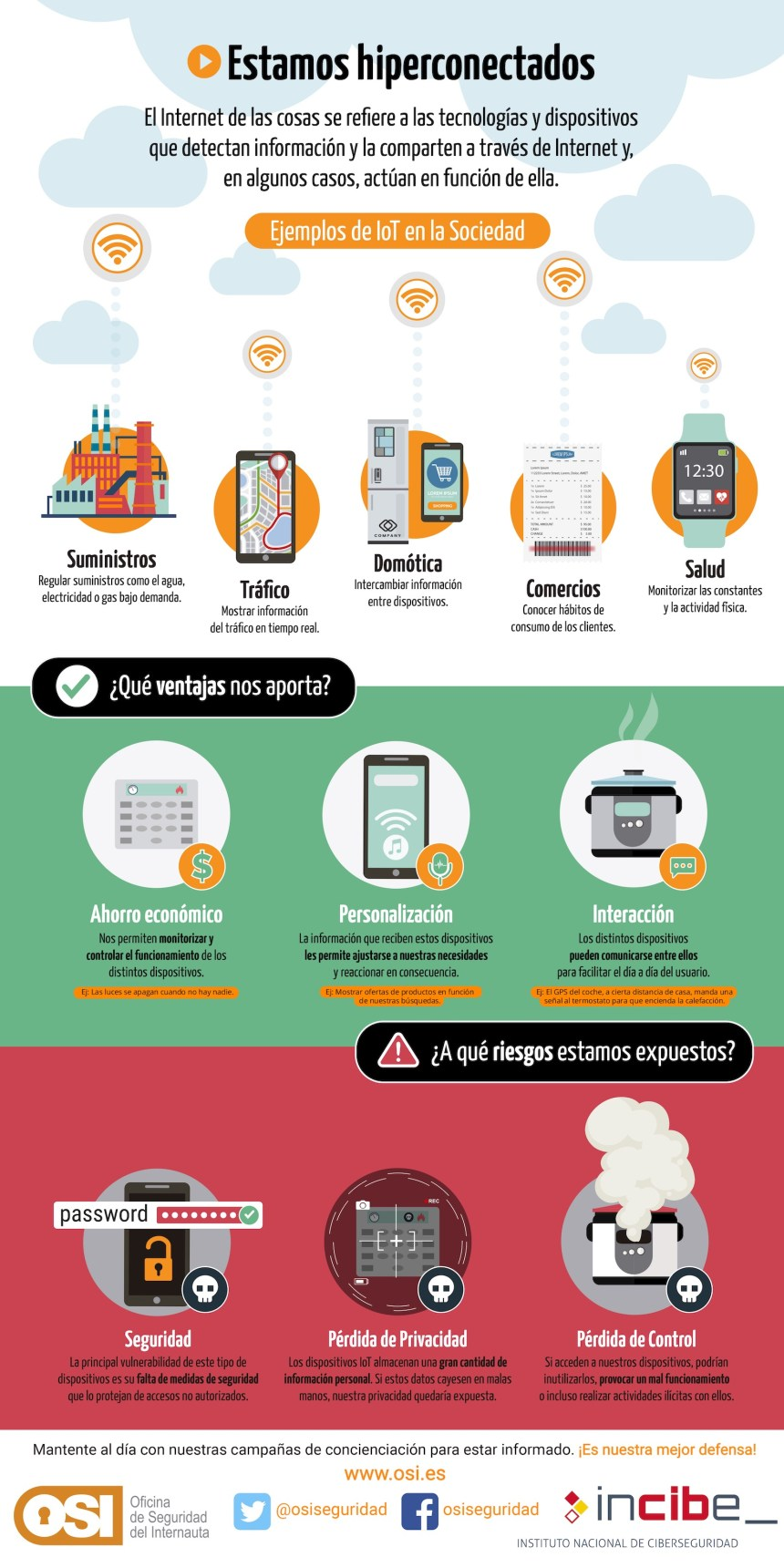 Internet de las Cosas en la Sociedad #infografia #tech #IoT