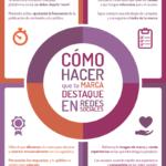 Cómo hacer que tu Marca destaque en Redes Sociales #infografia #socialmedia #marketing
