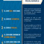 Mitos y realidades del liderazgo #infografia #infographic #leadership