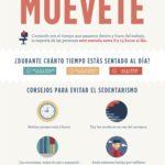 En la oficina: ¡Muévete! #infografia #infographic #rrhh #health