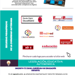 Políticas educativas para integrar las TIC en la Comunidad de Madrid #infografia #education